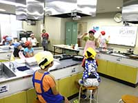 めだかの地域大学 食育教室